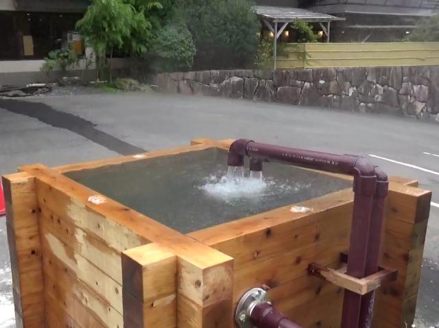 湯槽(190リットル/分 1時間にドラム缶57本分)