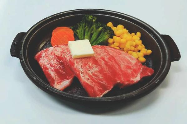 牛陶板焼(夕食A/個人盛り)