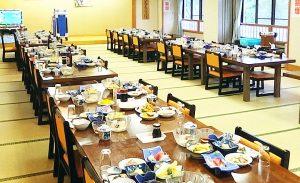 宴会場(カラオケ付き)*お料理はイメージです。