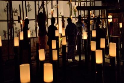 湯西川温泉「竹の宵まつり」