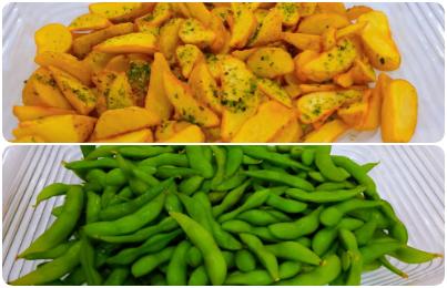 フレンチポテト/枝豆